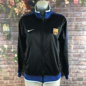 Nike Women's Jackets FC Barcelona Turtleneck M